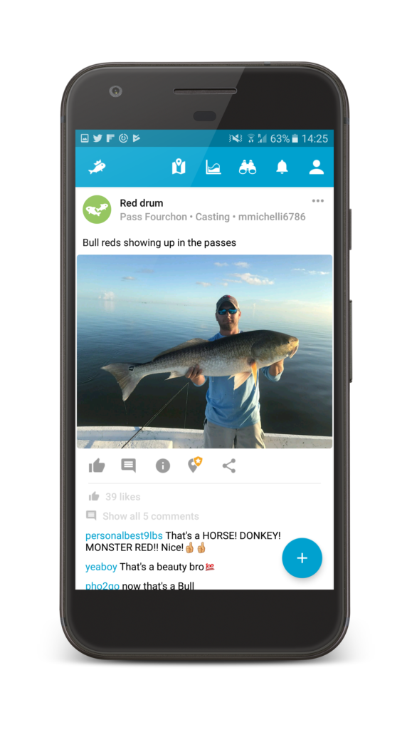 FishBrain App News Feed