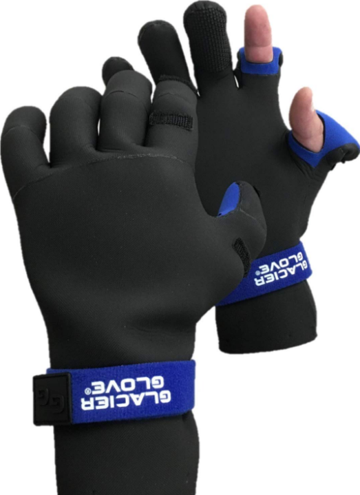 Glacier Glove Pro Angler Ice Fishing Gloves