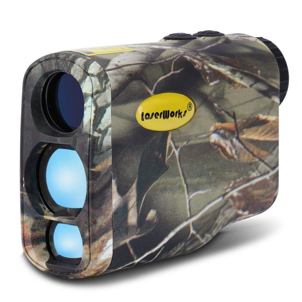 LaserWorks LW1000SPI Laser Rangefinder for Hunting and Golf