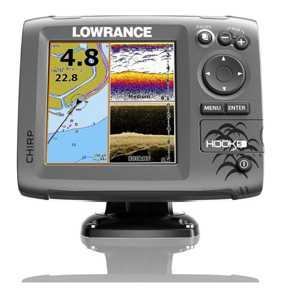 Lowrance Hook-5 Coastal Nautic Fish Finder