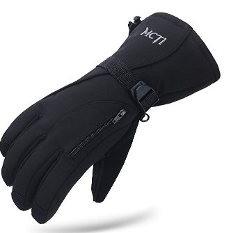 MCTi Waterproof Mens Ski Gloves Winter Warm 3M Thinsulate