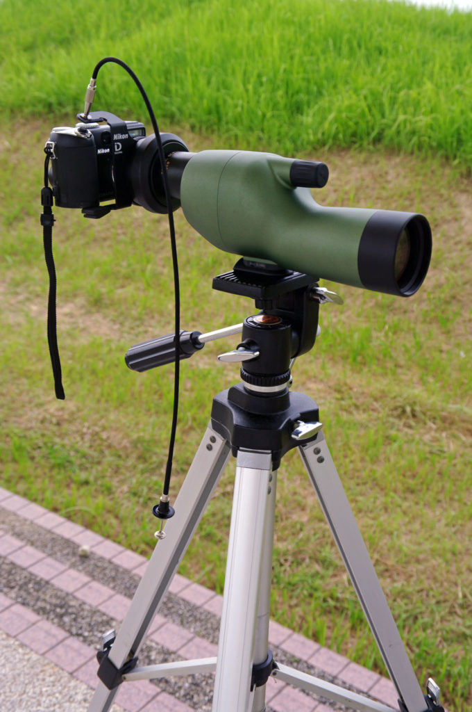 Nikon Digiscoping Spotting Scope On Tripod