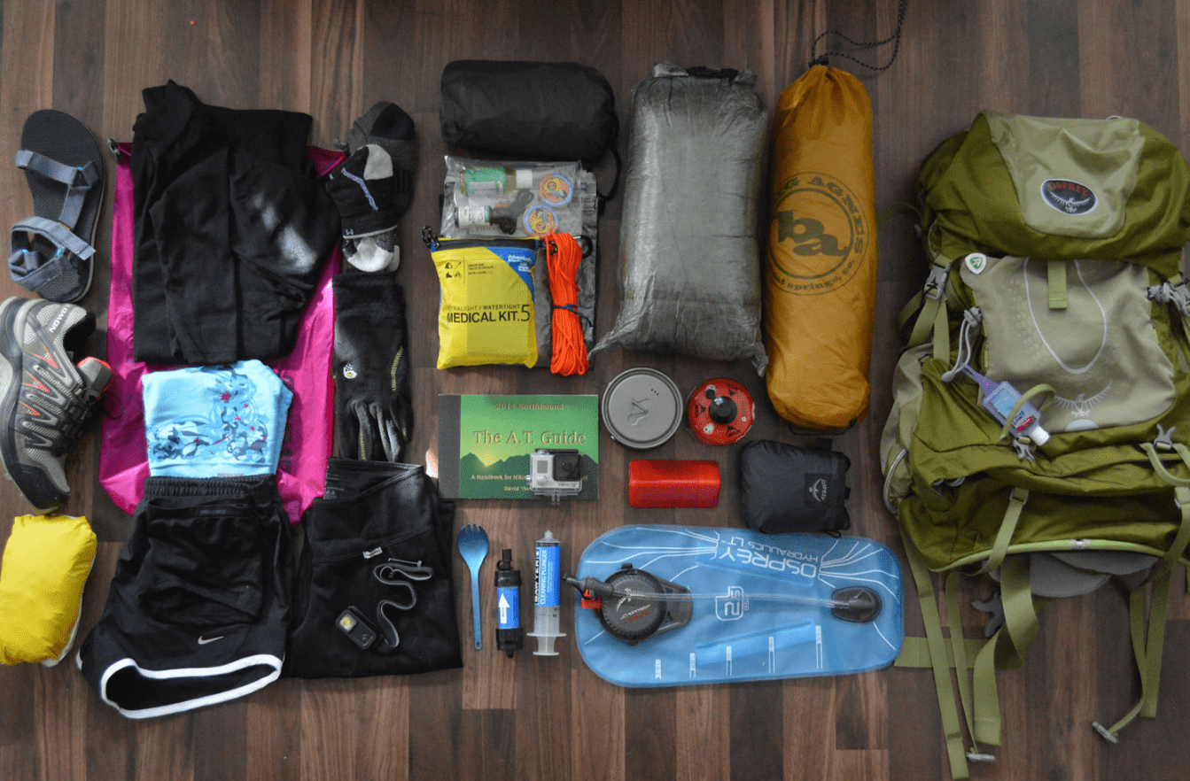 Packing Backpack for Outdoors