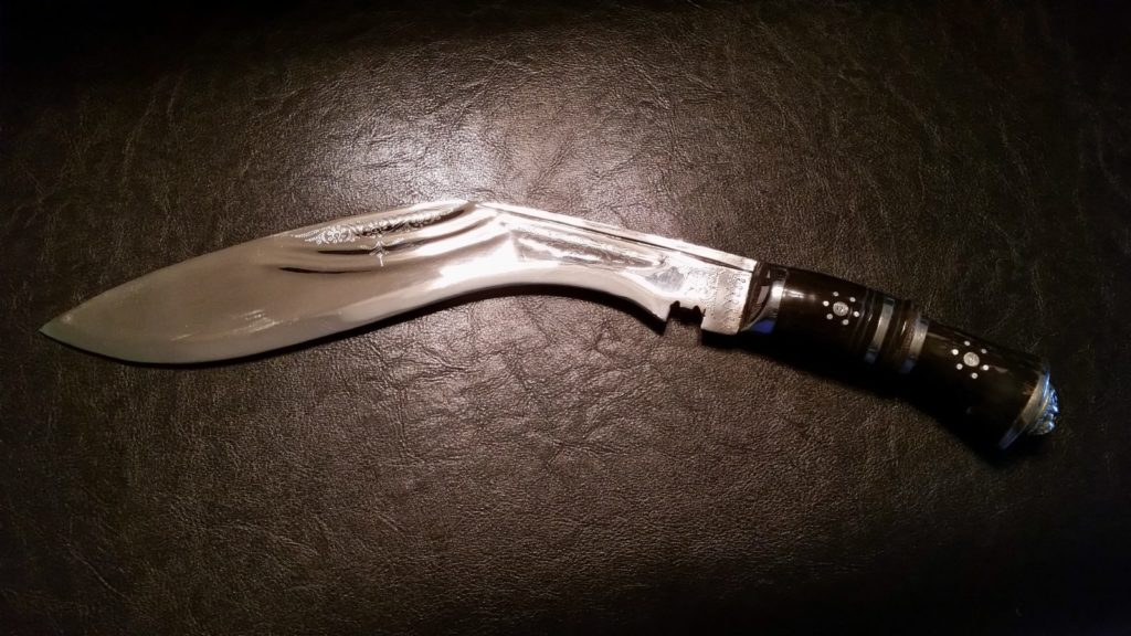 Polished Kukri Knife