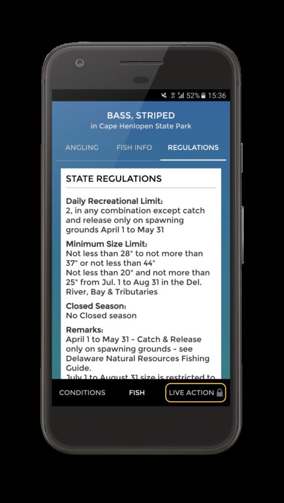 Pro Angler App Fish Regulations