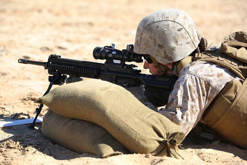 Rifle Shooting Position