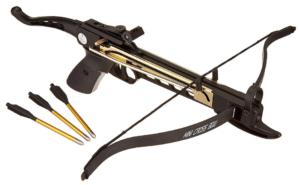 Snake Eye Tactical Pistol Crossbow 80lbs Cobra Review