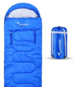 Sportneer Sleeping Bag with Zippered Holes for Arms and Feet