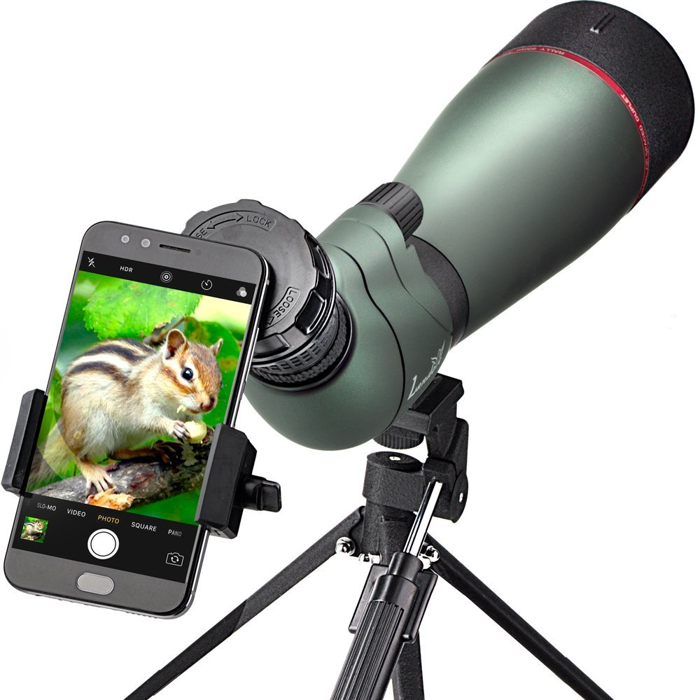 landove 20-60x 80 prism spotting scope