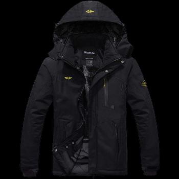 Wantdo Mountain Waterproof Fleece Ski Jacket