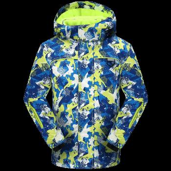 PHIBEE Big Boy's Waterproof Breathable Snowboard Ski Jacket