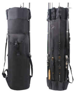 AGOOL Fishing Rod Bag Traveling Case