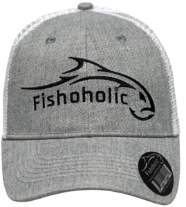 Fishoholic Fishing Hat