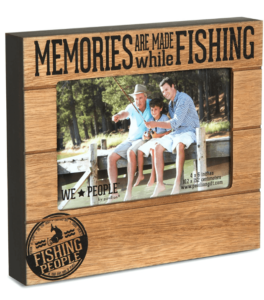 Pavilion Gift Company 67219 We People Fishing People Frame