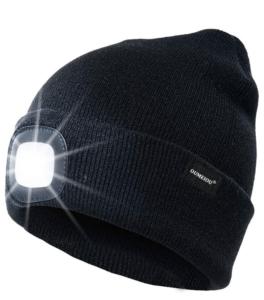 OUMEIOU Headlamp Beanie Cap