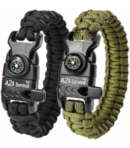 A2S Protection Paracord Bracelet K2-Peak