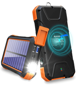 BLAVOR Solar Charger Power Bank