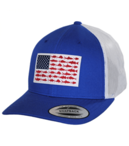 Columbia Unisex-Adult PFG Snap Back Fish Flag Ballcap